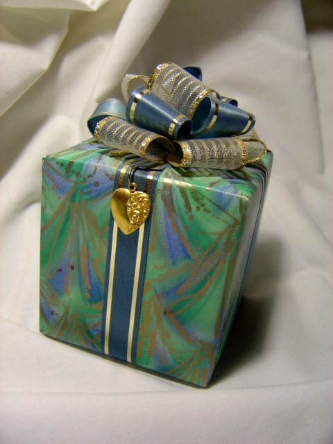 wrapped present picture