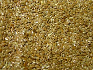photo of flax seeds