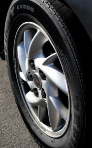 Free photo of car wheel with tire