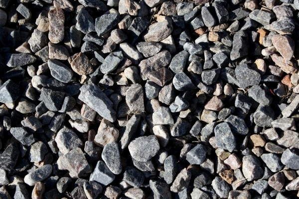 Free photo of gray rock gravel texture