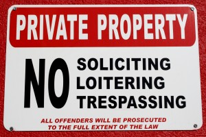 Free Photo of Private Property sign
