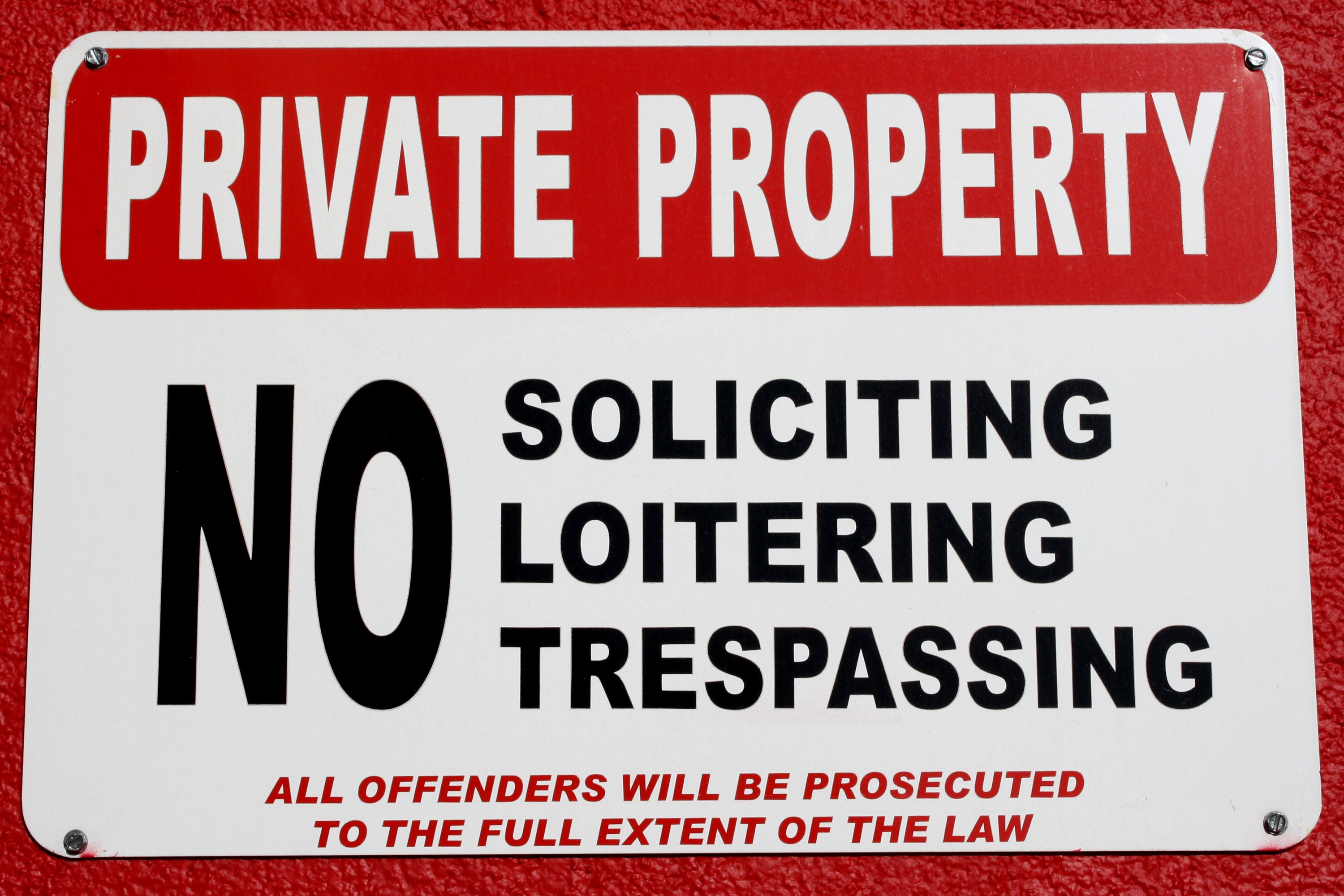 Private Property Sign Picture Free Photograph Photos