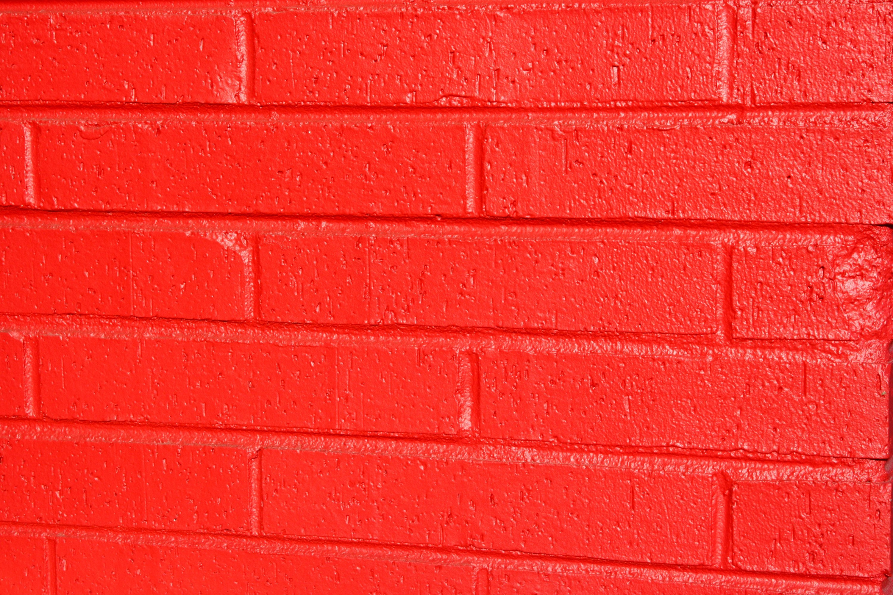 Red Paint Wall Free photo of red painted brick wall texture