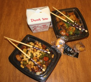 free high resolution photo of Chinese takeout food