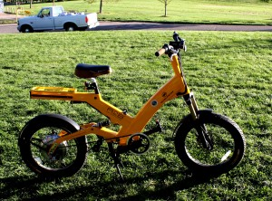 Free photo of an electric bicycle