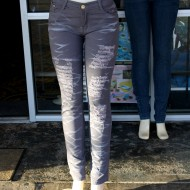 free high resolution photo of mannequins wearing jeans