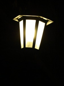 Lantern burning at night - free high resolution photo
