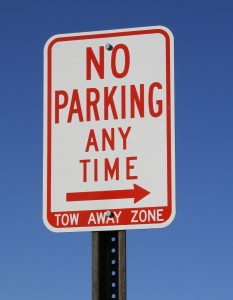no parking any time sign - free high resolution photo