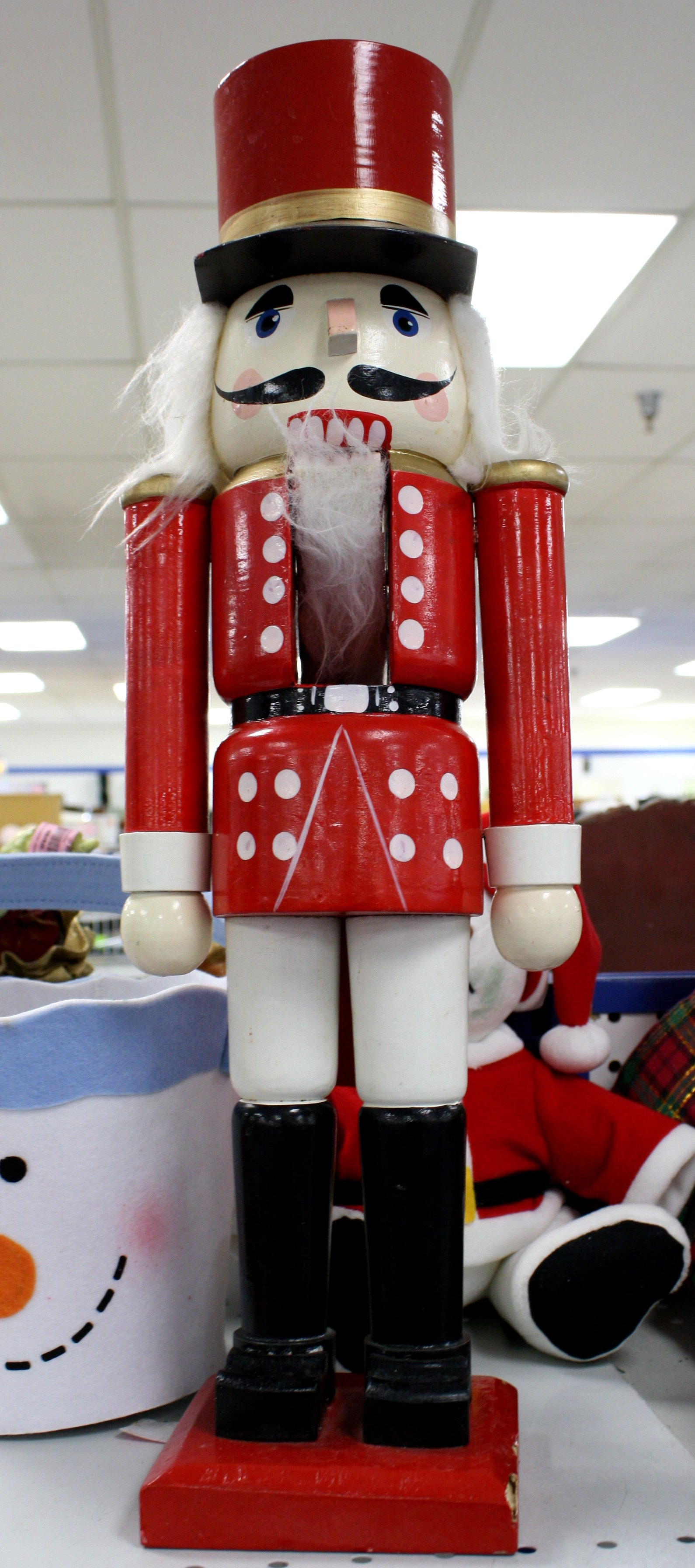 click here to download full resolution image - Large Toy Soldier Christmas Decoration