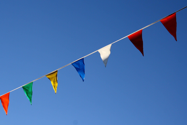 Pennant Flags Picture Free Photograph Photos Public Domain