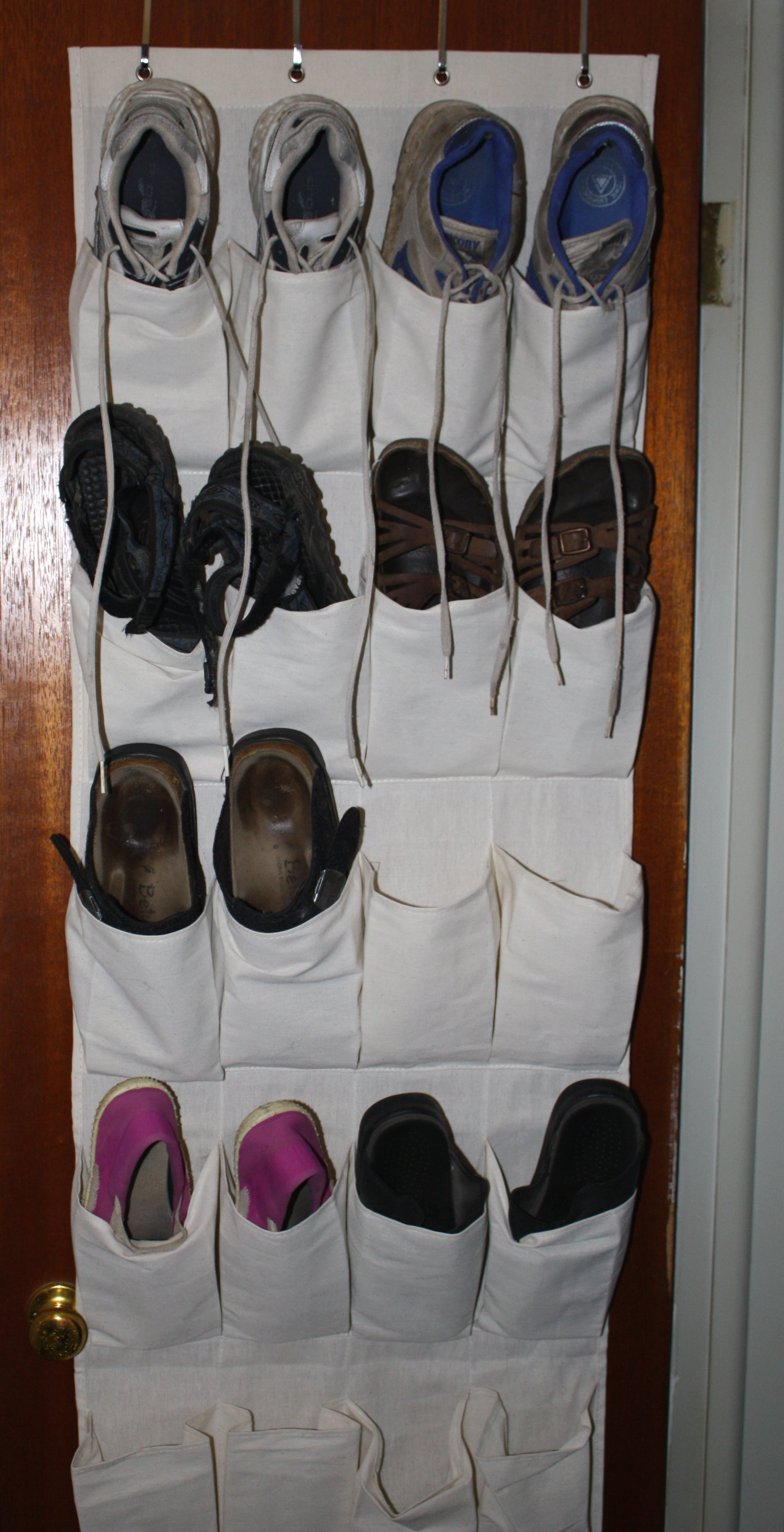 Shoes In Closet Door Rack Picture Free Photograph Photos Public