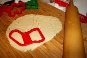 Baking Christmas Cookies - free high resolution photo