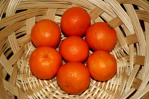 Basket of Clementines - Free High Resolution Photo