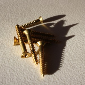 brass wood screws - free high resolution photo