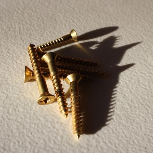brass wood screws - free high resolution photo