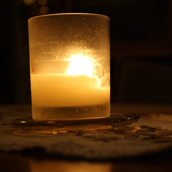 Candle in Glass Holder - Free high resolution photo