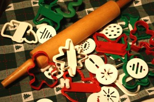 Christmas cookie cutters - free high resolution photo