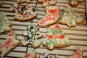 Christmas Cookies with Frosting - free high resolution photo