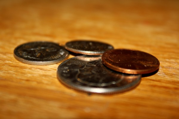Coins Side View - Free High Resolution Photo