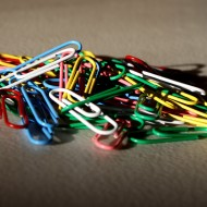 Colorful Paperclips - Free High Resolution Photo
