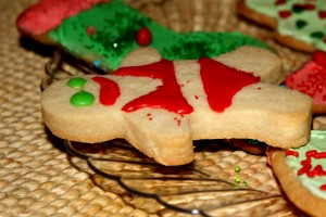 Funny Gingerbread Man Cookie - Free High Resolution Photo