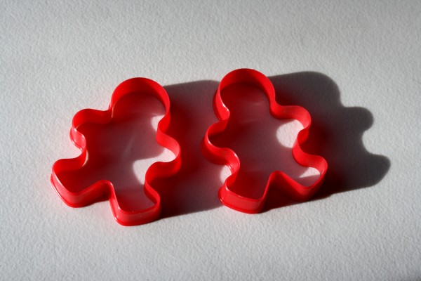 Gingerbread Men Cookie Cutters - free high resolution photo