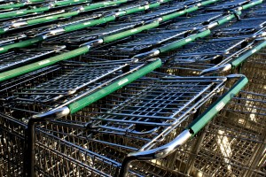 Grocery Carts - free high resolution photo