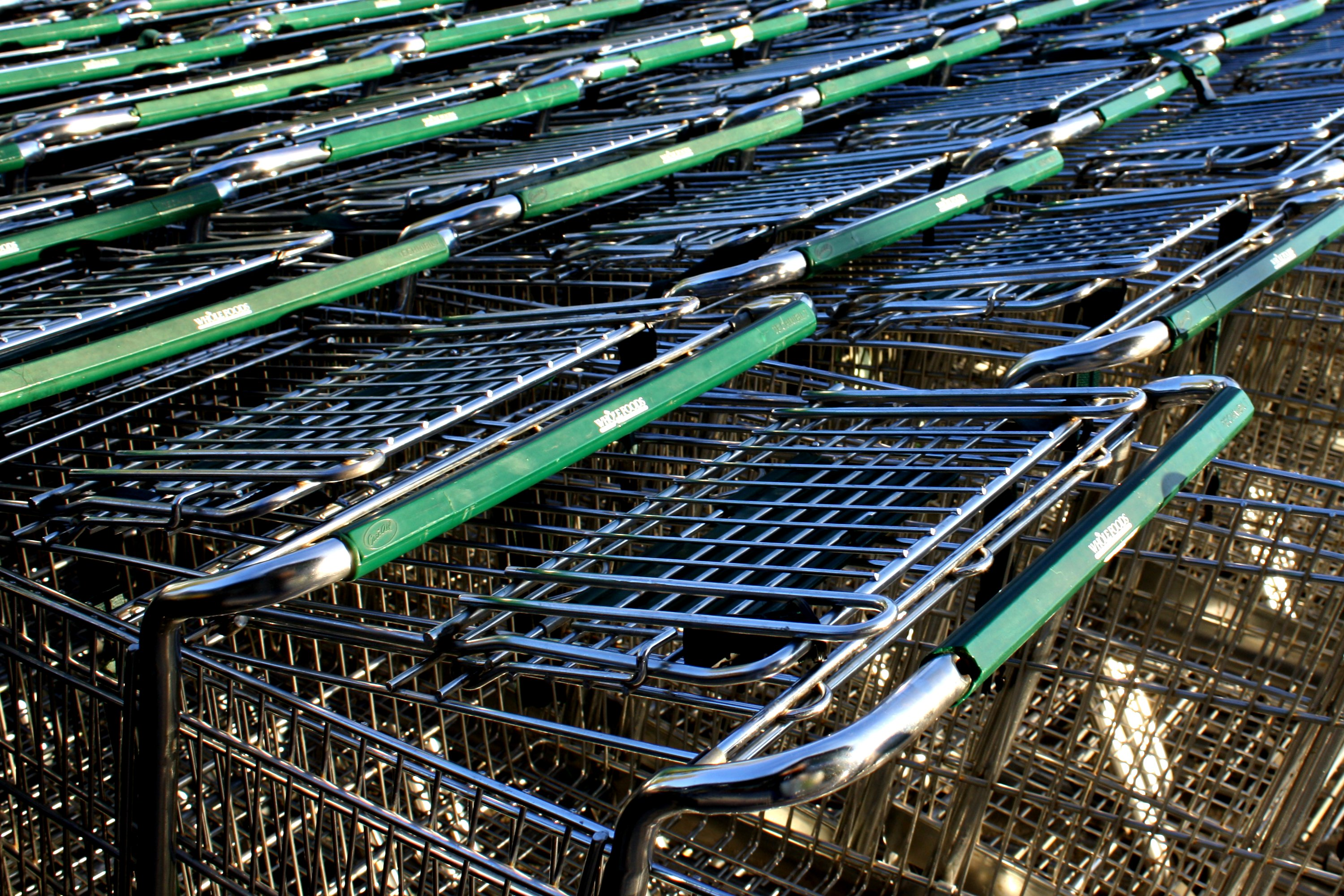 Grocery Carts Picture | Free Photograph | Photos Public Domain
