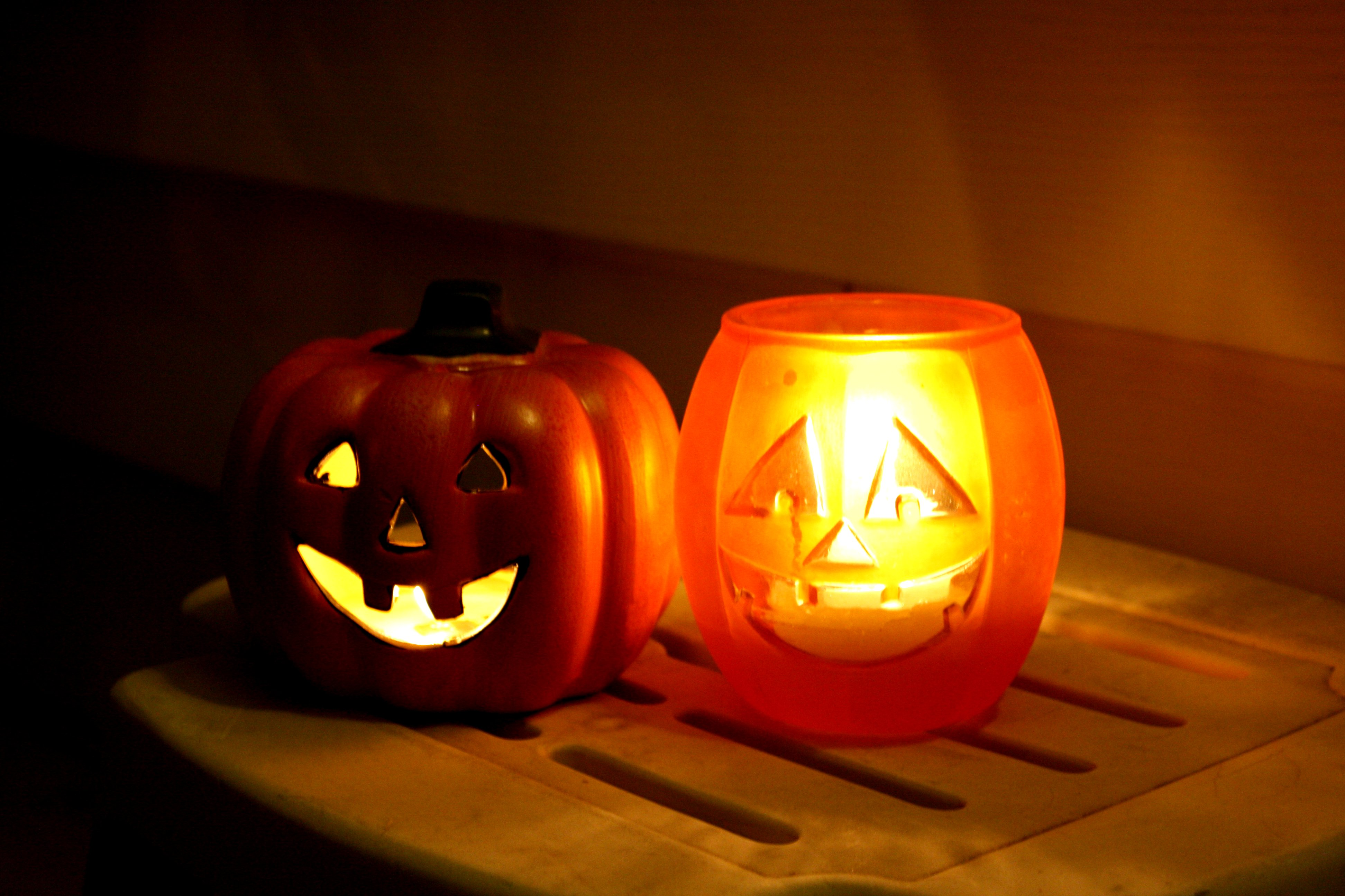 Halloween Candles Picture Free Photograph Photos