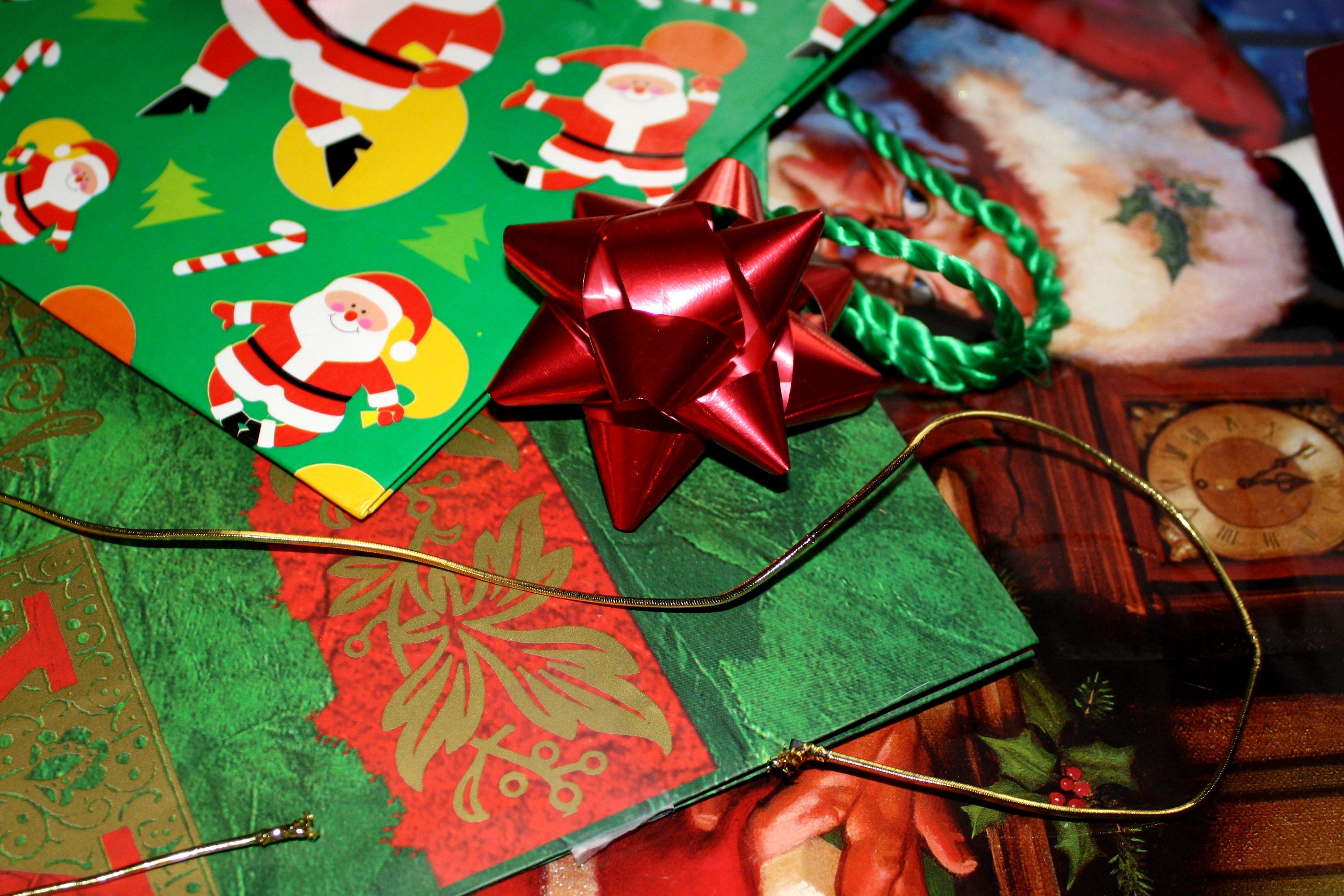 Holiday Gift Wrap Picture Free Photograph Photos