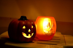 Jack-o-lantern Candles - Free High Resolution Photo