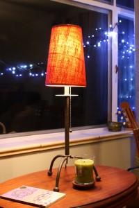 Lamp in Window - free high resolution photo