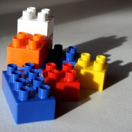 Lego Style Blocks - free high resolution photo