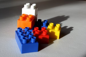 Lego Style Blocks - free high resolution photo