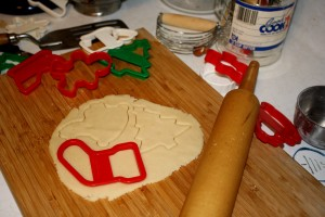 Making Christmas Cookies - free high resolution photo