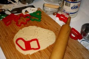 Making Christmas Cookies - free high resolution photo