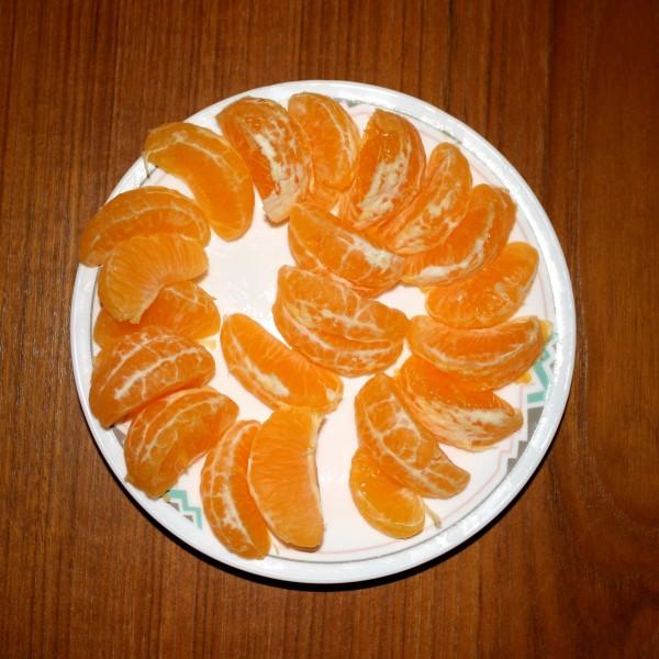 Mandarin Orange Sections - Free High Resolution Photo