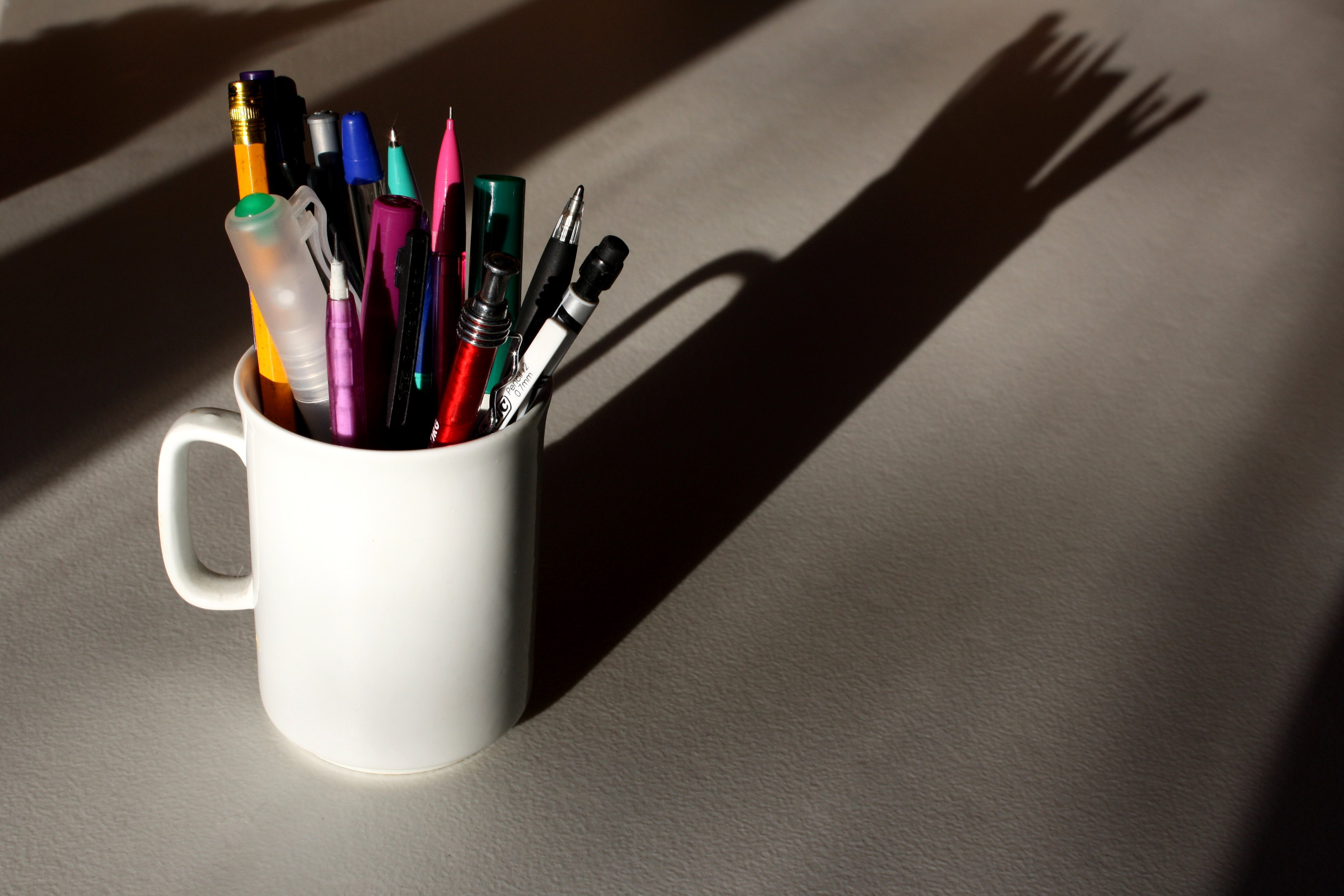 Mug Pencil Holder Picture Free Photograph Photos