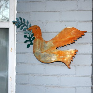 Peace Dove Outdoor Ornament - Free High Resolution Photo