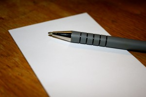 Pen and Paper - free high resolution photo