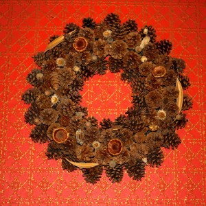 Pine Cone Wreath - Free High Resolution Photo