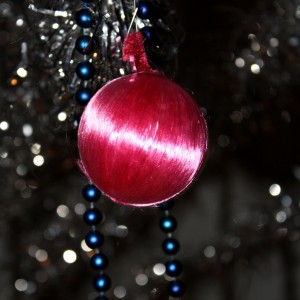 Pink Christmas Ball Ornament - free high resolution photo