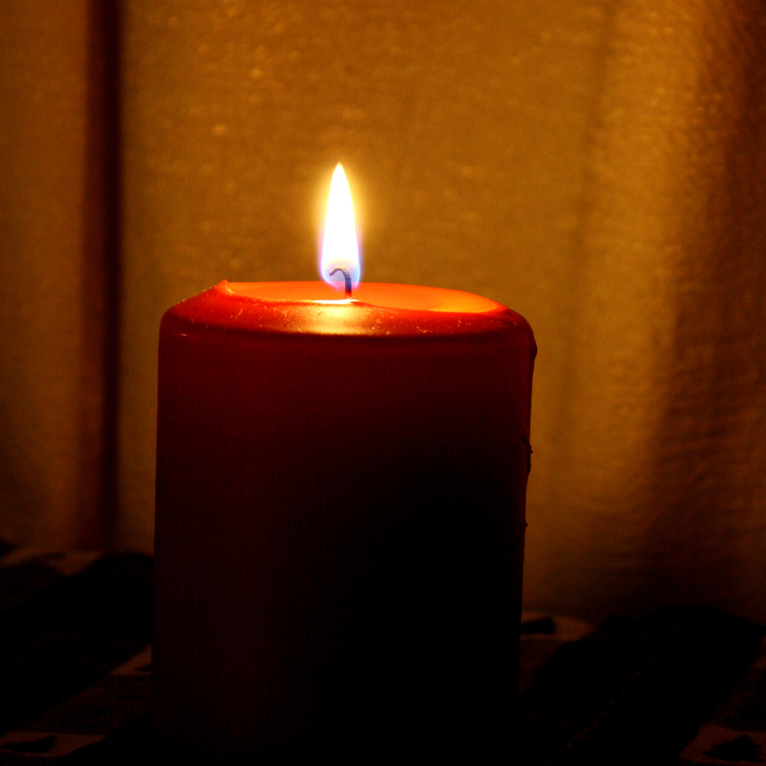 Red Burning Candle Picture | Free Photograph | Photos ...