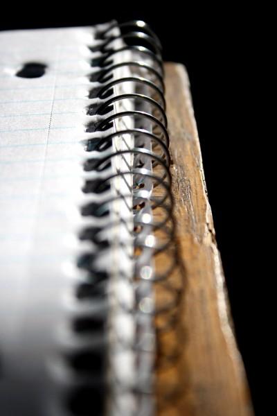 Spiral Notebook Edge - free high resolution photo