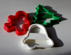 Three Christmas Cookie Cutters - free high resolution photo