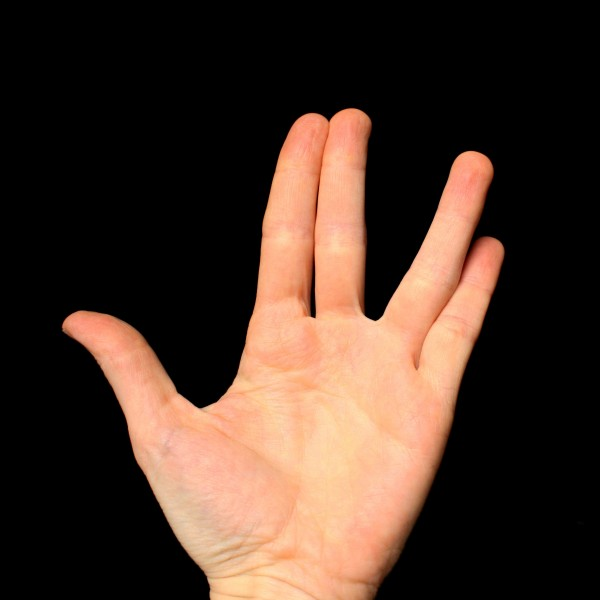 Vulcan Hand Sign - free high resolution photo