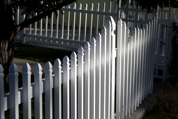 White Picket Fence Picture Free Photograph Photos
