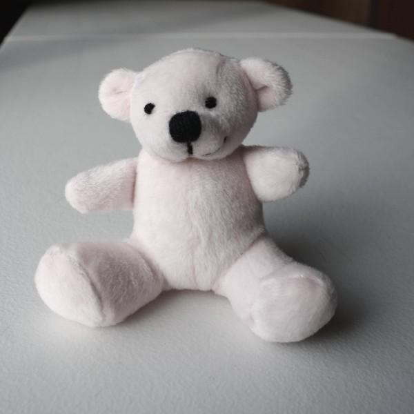 White Teddy Bear - free high resolution photo