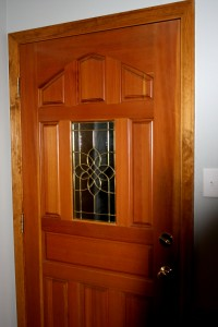 Wooden Entry Door - free high resolution photo