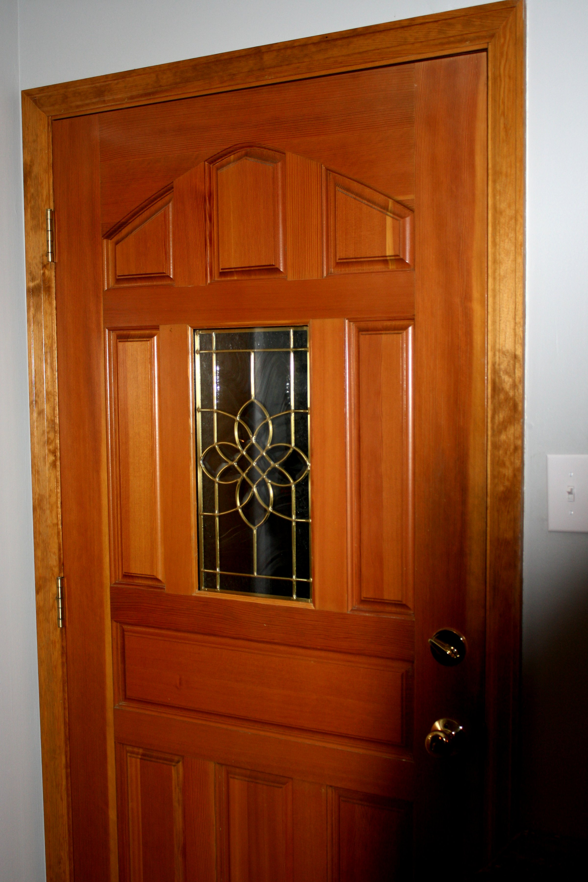 Entry wooden door doors for Hardwood doors